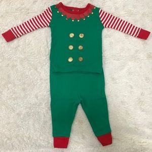 Other - Toddler Elf pajamas (12M)